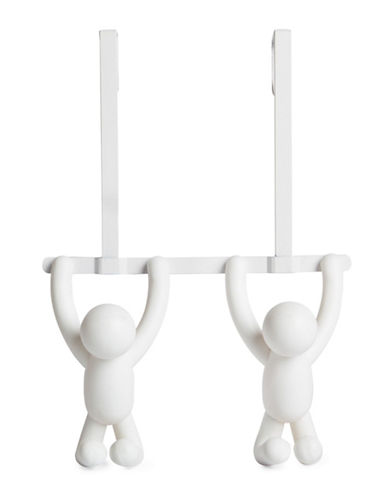 Umbra Double Buddy Over-The-Door Hook-WHITE-One Size