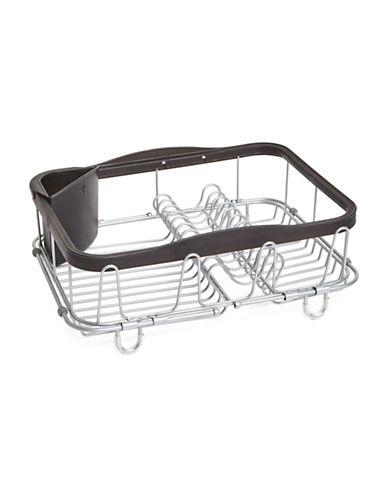Umbra Expanding Dish Sink Rack-STAINLESS-One Size