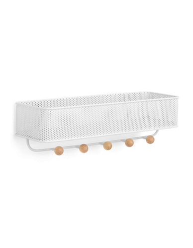 Umbra Estique Perforated Organizer-WHITE-One Size