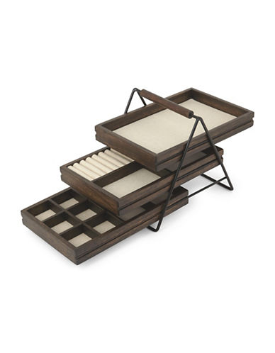Umbra Terrace Jewellery Tray-BROWN-One Size