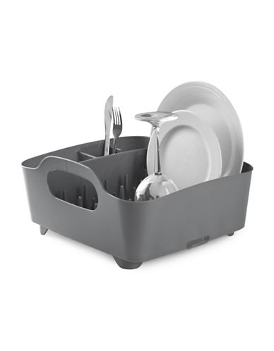 Umbra Tub Dish Rack-GREY-One Size