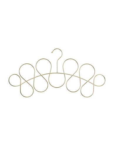 Umbra Loopdeloop Scarf Organizer-GOLD-One Size