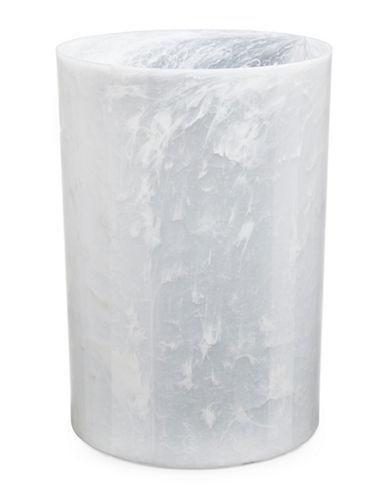 Umbra Molded Waste Can-WHITE-One Size