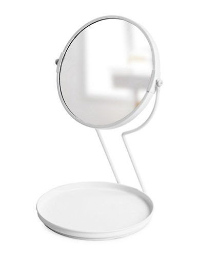 Umbra See Me Mirror with Tray-WHITE-One Size