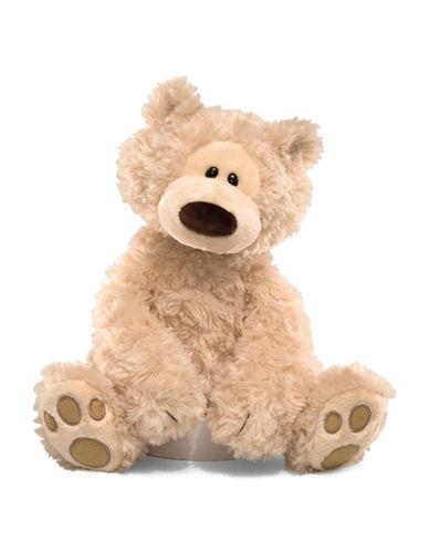 Gund Philbin Bear Plush Toy-BEIGE-One Size