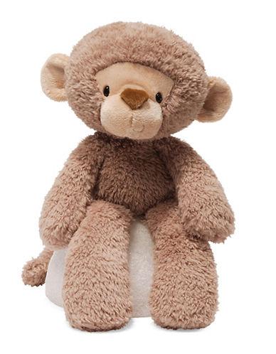 Gund Fuzzy Monkey Plush Toy-BROWN-One Size