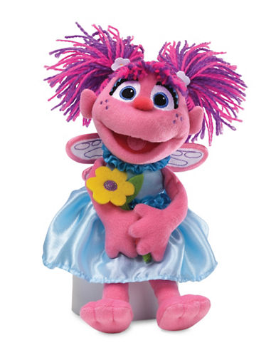 Sesame Street Abby Flower Plush Toy-MULTI-One Size