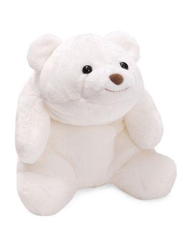 Gund Snuffles Bear Plush Toy-WHITE-One Size