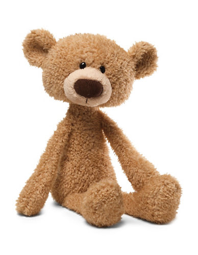 Gund Toothpick Bear Plush Toy-BEIGE-One Size
