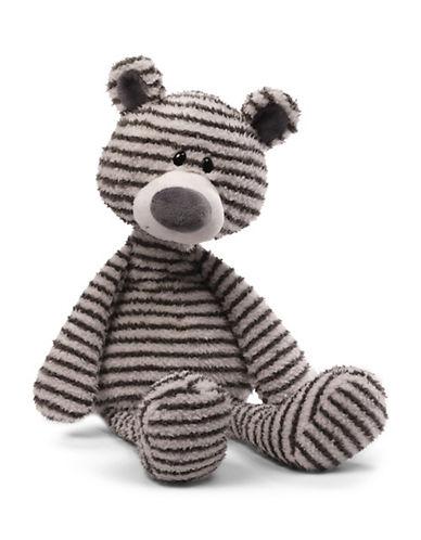 Gund Zag Bear Plush Toy-GREY-One Size