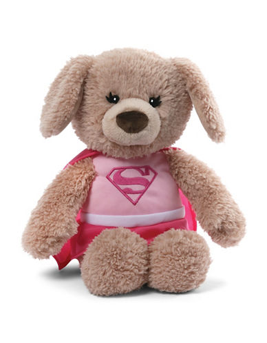 Gund Plush Supergirl Yvette 12-Inch Plush Toy-MULTI-One Size