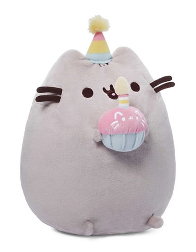 Pusheen 10.5-Inch Birthday Pusheen-MULTI-One Size