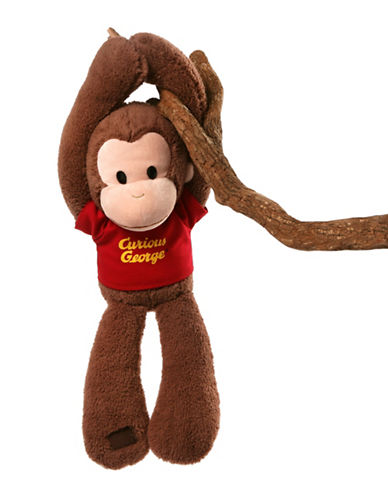 Gund Take Along Curious George 18-Inch Plush Toy-BROWN-One Size