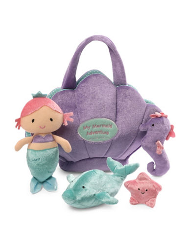 Gund Mermaid Adventure Plush Playset-MULTI-One Size