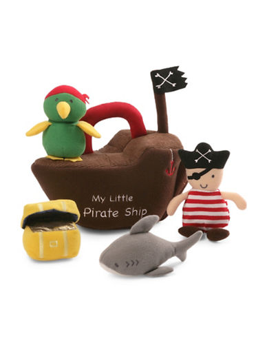 Gund Pirate Ship Plush Playset-MULTI-One Size