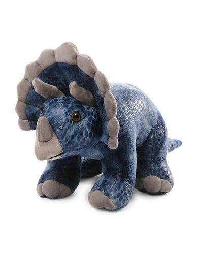 Gund Diesyl 14-Inch Triceratops Plush Toy-BLUE-One Size