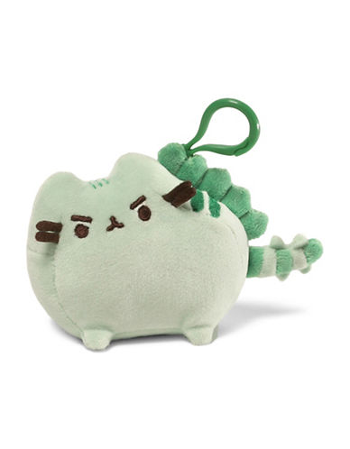 Pusheen Pusheenosaurus Backpack Clip-GREEN-One Size