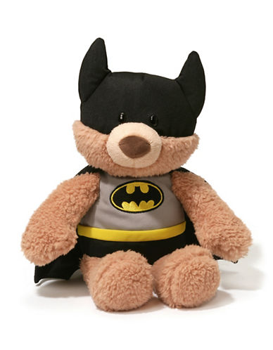 Gund Batman Malone Bear Plush Toy-MULTI-One Size