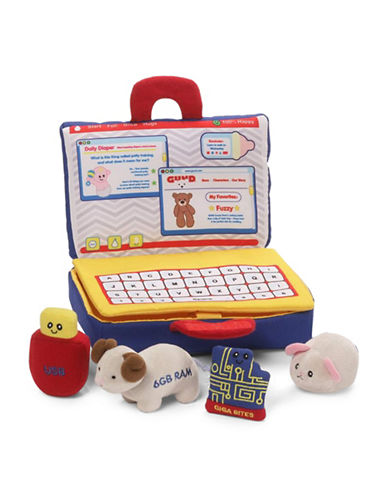 Gund Five-Piece My First Laptop Playset-MULTI-One Size
