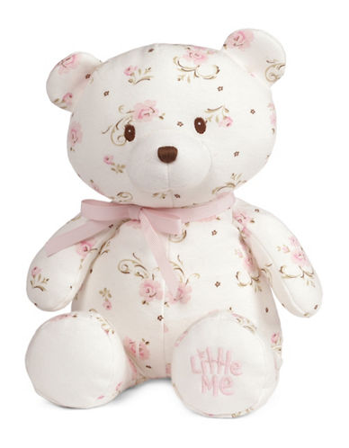 Little Me Vintage Rose Teddy Bear-MULTI-One Size