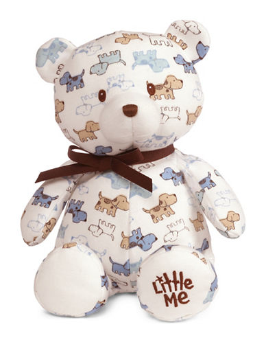 Little Me Cute Puppies Teddy Bear-MULTI-One Size