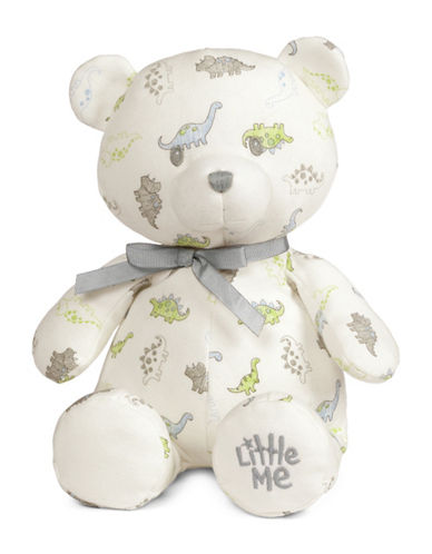 Little Me Tiny Dinos Teddy Bear-MULTI-One Size
