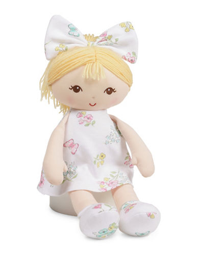 Little Me Blonde Plush Doll-MULTI-One Size