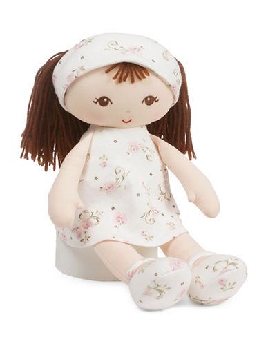 Little Me Brunette Plush Doll-MULTI-One Size