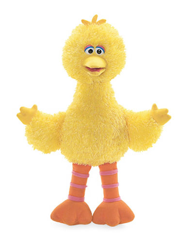 Sesame Street Big Bird 14-Inch Plush Toy-YELLOW-One Size