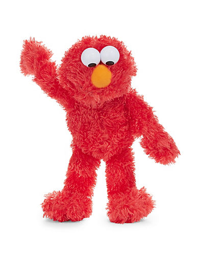 Sesame Street Elmo 13-Inch Plush Toy-RED-One Size