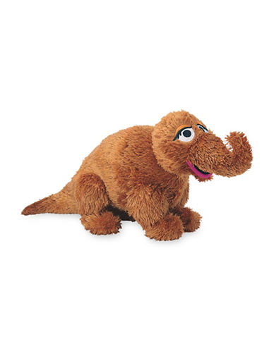 Sesame Street Snuffleupagus 16-Inch Plush Toy-BROWN-One Size