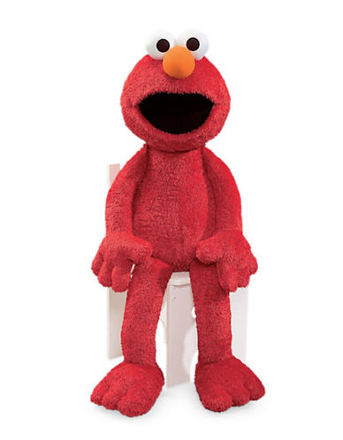 Sesame Street Elmo Jumbo 41-Inch Plush Toy-RED-One Size