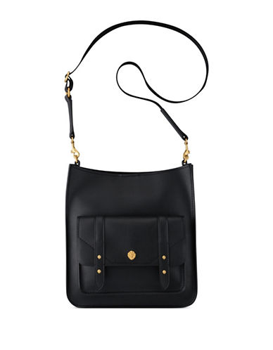 Anne Klein Florence Large Crossbody Bag-BLACK-One Size
