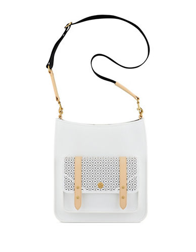 Anne Klein Florence Large Crossbody Bag-WHITE-One Size