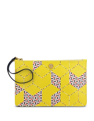 Anne Klein Large Pouch-CITRON-One Size
