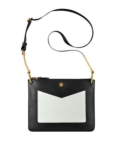 Anne Klein Megyn Crossbody Bag-BLACK-One Size