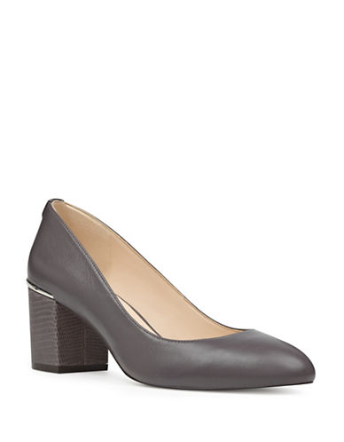 Nine West Astor Pumps-DARK GREY-8