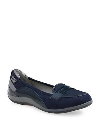 Anne Klein Welcome Sport Loafers-NAVY-10