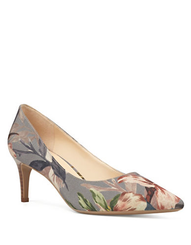 Nine West 9X9 Pointed Toe Pumps-MULTI-9.5