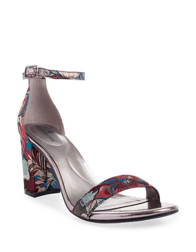 Bandolino Mulbando Tropical Sandals-FLORAL-7.5