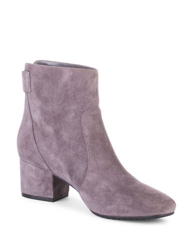 Bandolino Fauna Ankle Boots-GREY-5.5