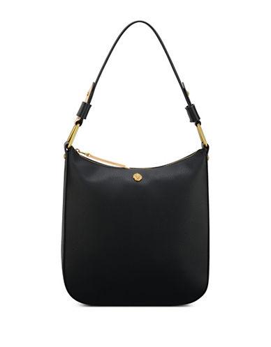 Anne Klein Maddie Medium Zip Hobo bag-BLACK-One Size