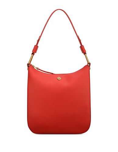 Anne Klein Maddie Medium Zip Hobo bag-RED-One Size