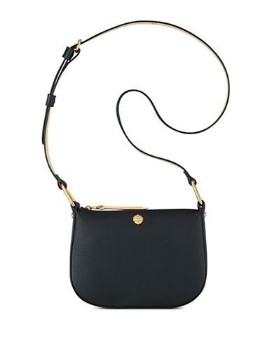 Anne Klein Linda Small Crossbody Bag-BLACK-One Size