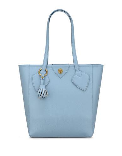 Anne Klein Georgia Medium Tote Bag-OCEAN BLUE-One Size
