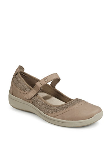 Easy Spirit Sporty Mary Janes-BROWN-7.5