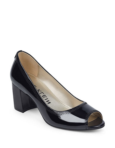 Anne Klein Meredith Slip-On Dress Pumps-BLACK-8.5