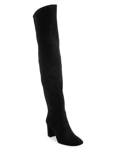 Nine West Xperian Stretch Boots-BLACK-10