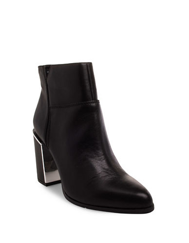 Nine West Karlene Booties-BLACK-6