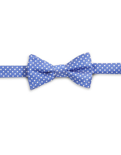 Bow Tie Tuesdays Polka Dot Bow Tie-NAVY-One Size